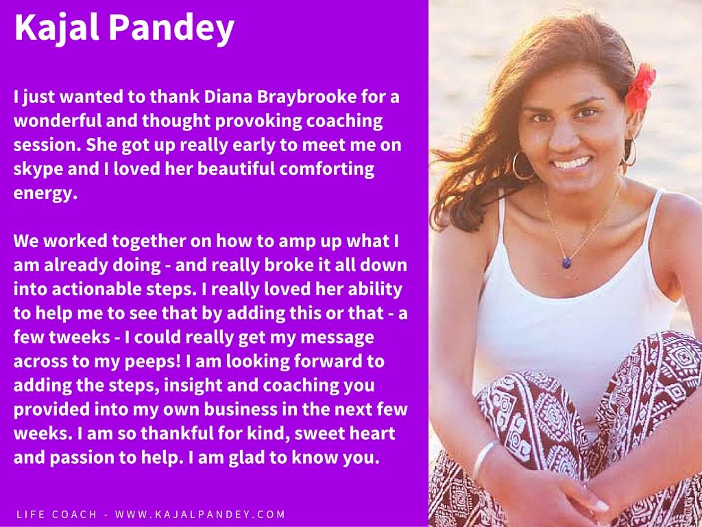 Kajal Pandey website