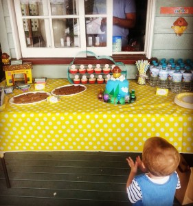 Hey Duggee birthday party with just a few fam andhellip