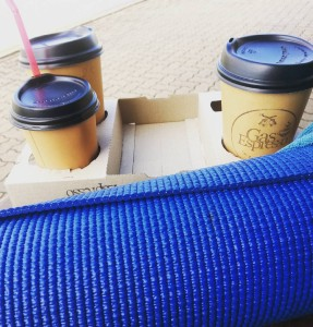 Yoga and coffee Fridays Today I went to a newhellip